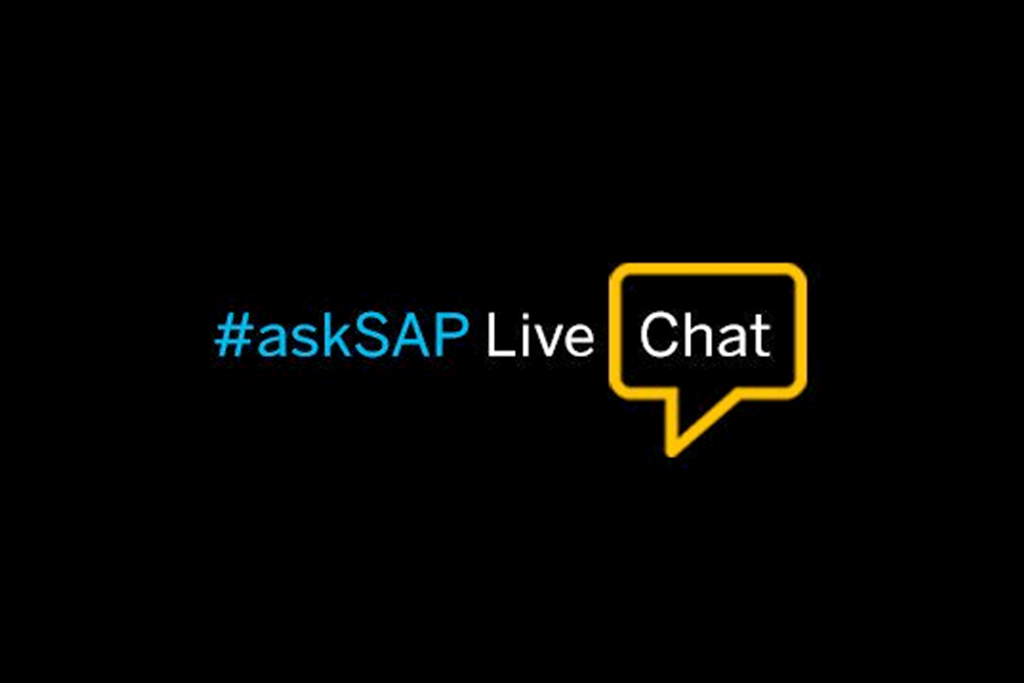 #askSAP Live Chat